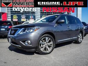 2015 Nissan Pathfinder Platinum, only 23,276 km,  Leather, Navig