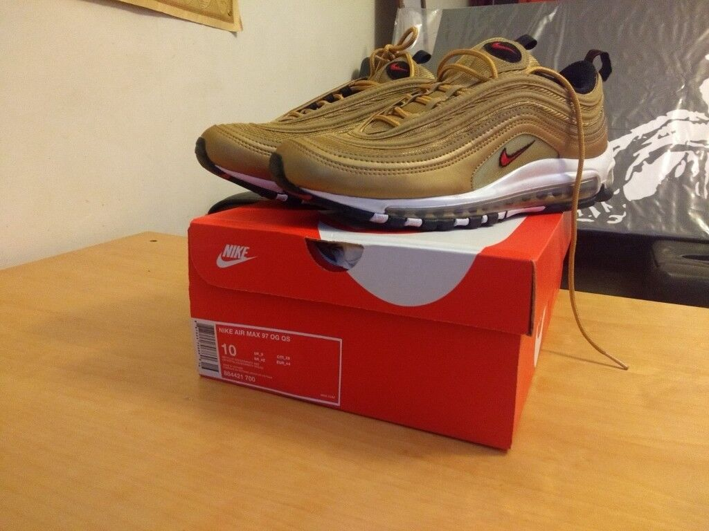 432c227173 Nike Air Max 97 Very Rare OG QS Metallic Gold UK 9 | in Camden ...
