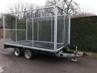 Ifor Williams 12ft 3.5 tonne with caged sides