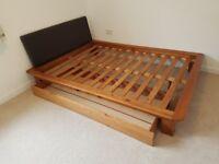 Bed frame (no mattress)