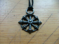 Lost Tribe eight-pointed chaos star pendant