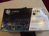 Genuine High Capacity Black HP 654X Toner Cartridge - CF330X