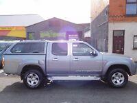 Finance Available & NO VAT. Mazda BT50 4X4 2010 plate full service history Ford Ranger (44)