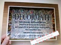 Interior & Exterior Painter & Decorator