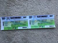 2 glastonbudjet festival tickets including camping may bank holiday