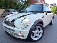 2003 MINI Cooper Automatic, SAT NAV, Full leather interior £2150