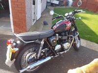 Selling my beloved Triumph T100 due to upgrade to a new Thruxton, very clean bike, well looked after