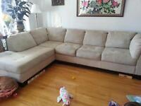 Large L shape Couch - good condition
