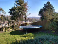 Free to collect - large garden trampoline