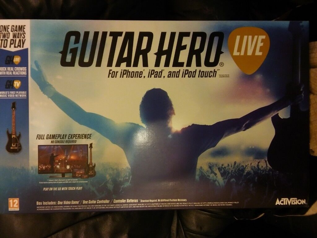 activision guitar hero live - iphone ipad ipod touch