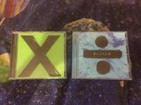 Ed Sheeran cds