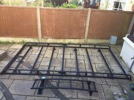 Rhino Modular roof rack and door ladder for Vauxhall Vivaro/Renault Traffic