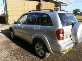 2005 TOYOTA RAV 4 2.0 D-4D XT-R 5DR MANUAL 4WD DIESEL EX COND NEW MOT NO ADVISORIES DRIVES SUPERB