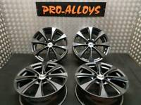 "17"" RIPSPEED ALLOY WHEELS REFURBISHED ANTHRACITE GREY 4x100 4x108 vauxhall ford mini"