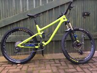 NORCO OPTIC C7.2 2017 FULL SUSPENSION MOUNTAIN BIKE MEDIUM