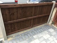 Fence 6 x 3 plus posts