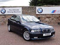 "BMW E36 318ti Sport Edition, ""Individual"", Manual, 84k Miles, MOT: 1 Year, Private Plate Inc"