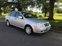 2006 CHEVROLET LACETTI 1.4 LX LOW TAX/INSURANCE IDEAL FAMILY CAR LOW MILES POSS PX