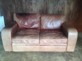 2 Seater Leather Sofa By HALO