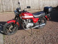 KAWASAKI GT 550 MOTORCYCLE GOOD CLEAN CONDITION GENUINE MILEAGE 15,251 RED