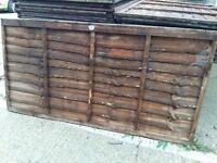 6ft x 3ft new fence panels. £5 each