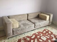 Extra large two seater sofa