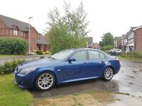 BMW 525D M sport - low mileage with full major services (better than 3 series A4 A5 A6 Audi Mercedes