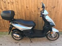 Sym Symply 50cc scooter 2010 moped 10 months mot