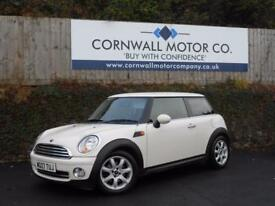 MINI HATCH ONE 1.4 ONE 3d 94 BHP GOOD HISTORY + PEPPER PACK (white) 2007