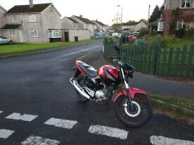 2013 Yamaha YBR 125, perfect learner bike, low mileage, long MOT