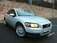 AUTOMATIC 28K MILES VOLVO C30 G TRONIC 1 YEAR MOT [not polo golf focus s40]