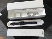 Apple Watch Series 2 42mm Rose Gold Midnight Blue Sports Band