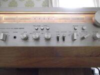 Classic AKAI AA-1200 hi-fi stereo AM/FM tuner/amplifier - 120 watts RMS per channel