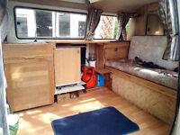 Aircooled Hi Top VW Camper 1982 2 litre LPG/petrol MOT Dec, £3500 ONO 2 + 2
