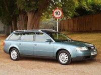 Audi A6 1.8T Turbo Avant Estate (1999/T Reg) + Green + LAST OWNER 10 YERS +