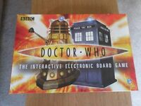 DR WHO BOXED GAME - PRICED AT or nearest offer