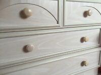 2 x 3 drawer with matching wardrobe