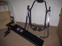 AIR WALKER EXERCISE YORK 250 EXERCISE BENCH YORK FITNESS BENCH YORK SIT UP BENCH cross trainer