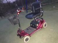 Sterling Pearl mobility disability scooter with BRAND NEW BATTERIES