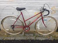 Raleigh Prelude ladies retro road bicycle