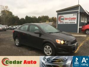 2013 Chevrolet Sonic LS - Local Trade - Special