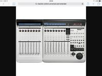 MACKIE CONTROL UNIVERSAL PRO AND EXTENDER