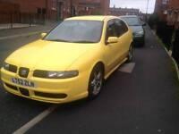 Reduced seat Leon cupra (not vxr, type r, vw, Audi, bmw, Mercedes, Vauxhall, Subaru or toyota)