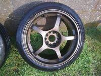 """Genuine RAYS Gram Light alloy wheels 17"""""""
