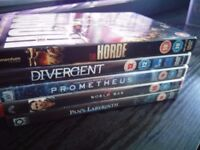 5 x DVDs (see picture)