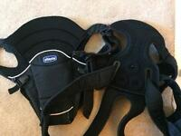 Chicco black baby carrier