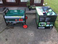 Petrol generator output 4.1 kW 5.5 HP
