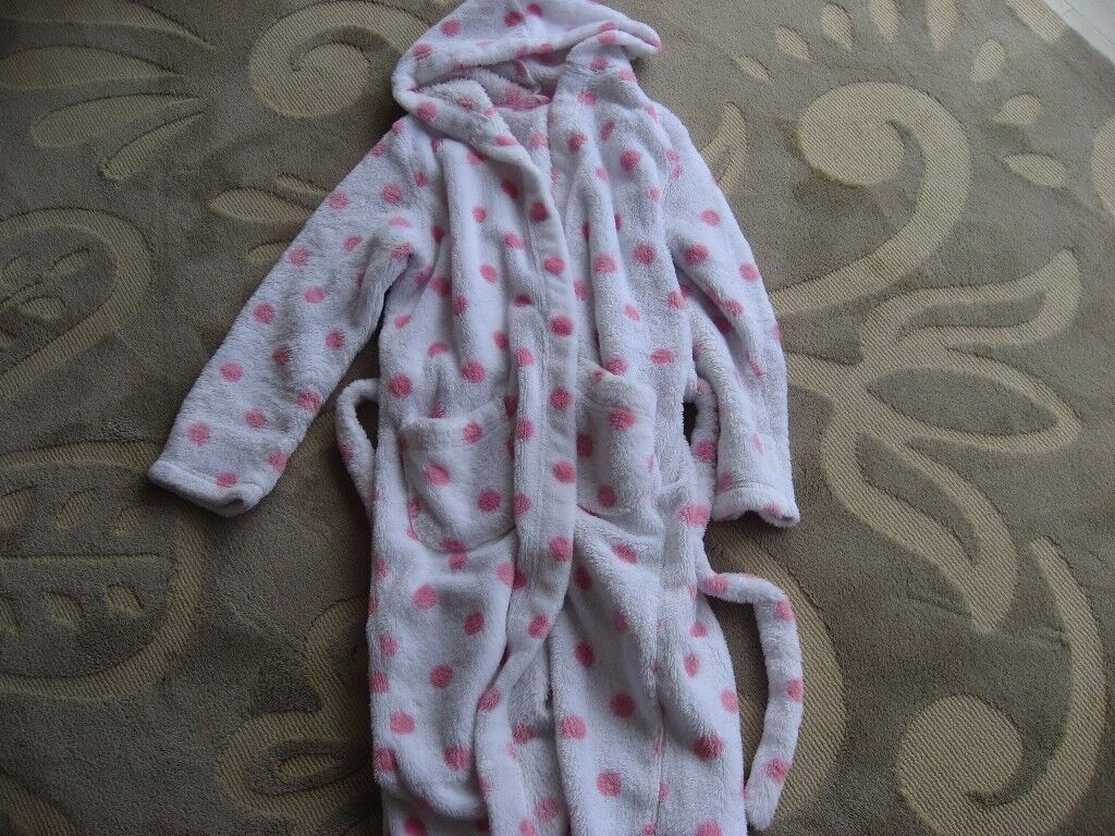M&S Girls Dressing Gown (Age 11-12)