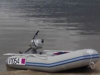 Inflatable Dinghy and 2.3 Hp Outboard