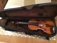 Nice old maggini fiddle and case